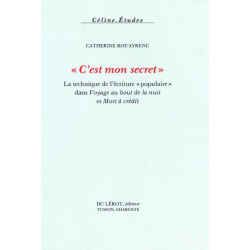 """"""" C'EST MON SECRET """" de Catherine ROUAYRENC Librairie Automobile SPE C'EST MON SECRET"""