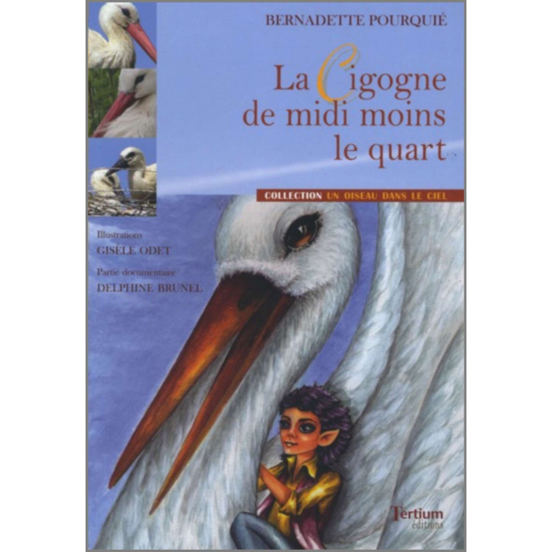 La cigogne de midi moins le quart De Bernadette Pourquié Ed. Tertium Librairie Automobile SPE 9782916132129