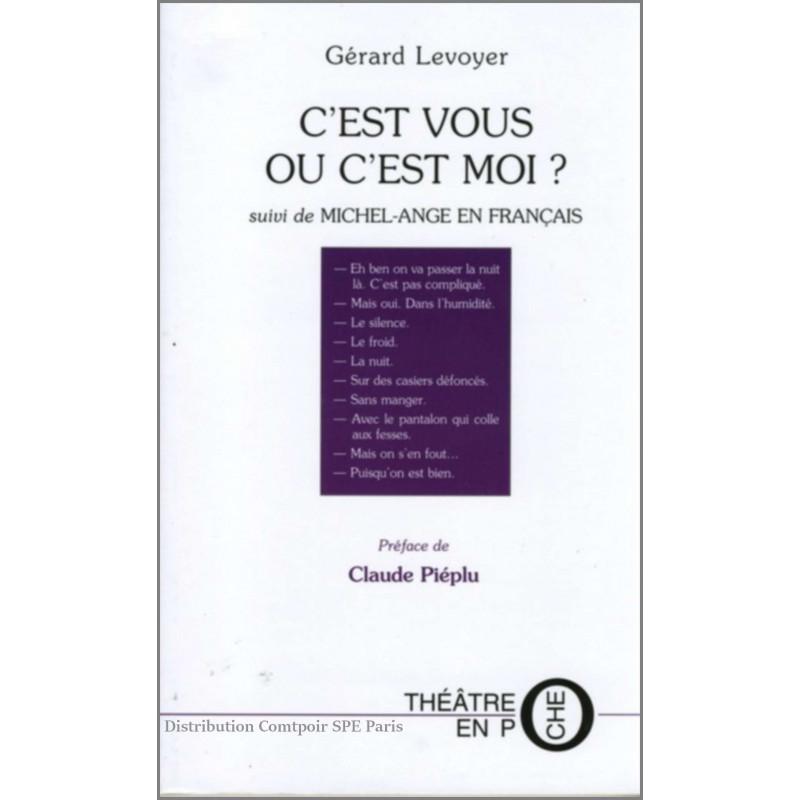 C'est vous ou c'est moi De Gérard Levoyer Ed. Tertium Librairie Automobile SPE 9782845230651