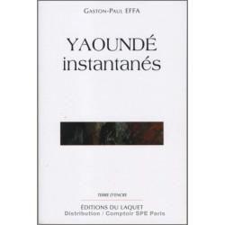 Yaoundé instantanés De Gaston Paul Effa Ed. Tertium Librairie Automobile SPE 9782845230958