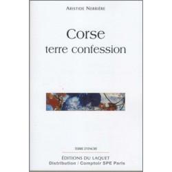Corse terre confession De Aristide Nerrière Ed. Tertium Librairie Automobile SPE 9782845230149