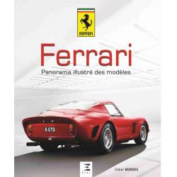 FERRARI Panorama des modèles / Didier Bordes / Edition ETAI-9791028302948