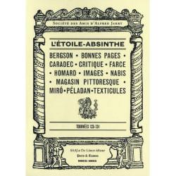 ALFRED JARRY - L'ETOILE ABSINTHE Tournée 123-124 Librairie Automobile SPE ETOILE ABSINTHE Tournée 123-124
