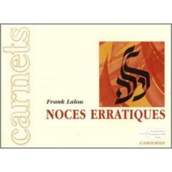 Noces erratiques -amourier-9782911718564