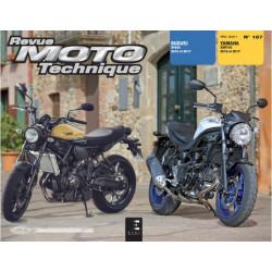 REVUE MOTO TECHNIQUE SUZUKI SV650 2016 et 2017 - RMT 187 Librairie Automobile SPE 9791028306588-1