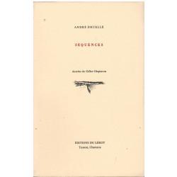 SÉQUENCES de André DRUELLE Librairie Automobile SPE SÉQUENCES