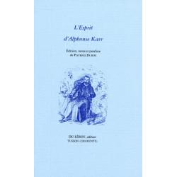 L'ESPRIT de Alphonse KARR Librairie Automobile SPE ESPRIT