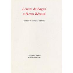 LETTRES DE FAGUS A HENRI BERAUD Librairie Automobile SPE LETTRES DE FAGUS