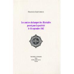 Les convives du banquet des Misérables posent pour la postérité le 16 septembre 1862 Librairie Automobile SPE LES CONVIVES