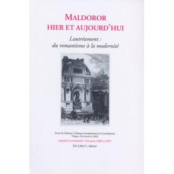 MALDOROR HIER ET AUJOURD'HUI - LAUTRÉAMONT Librairie Automobile SPE MALDOROR