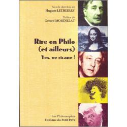RIRE EN PHILO (ET AILLEURS) de Hugues Lethierry Librairie Automobile SPE 9782847125474