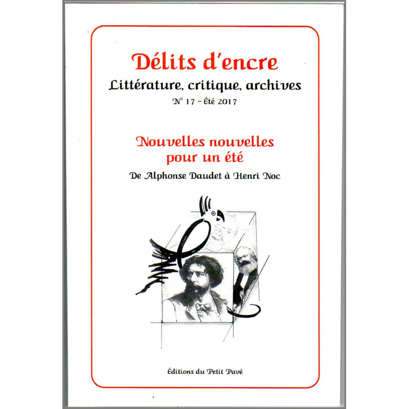 DÉLITS D'ENCRE N°17 - NOUVELLES NOUVELLES POUR UN ÉTÉ Librairie Automobile SPE 9782847125436