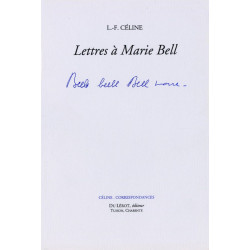 LETTRES A MARIE BELL Librairie Automobile SPE LETTRES A MARIE BELL