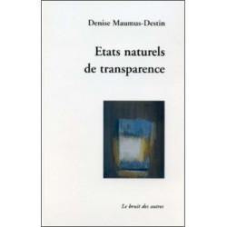 ETATS NATURELS DE TRANSPARENCE Librairie Automobile SPE 9782914461160