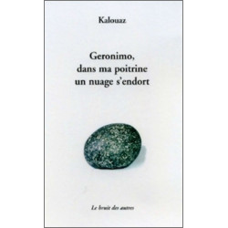 GERONIMO, DANS MA POITRINE UN NUAGE S'ENDORT Librairie Automobile SPE 9782914461504
