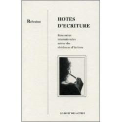 HÔTES D'ÉCRITURES Librairie Automobile SPE 9782909468365