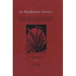 MYSTIFICATIONS LITTÉRAIRES - Colloque des Invalides 2000 Librairie Automobile SPE MYSTIFICATIONS