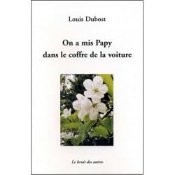 ON A MIS PAPY DANS LE COFFRE DE LA VOITURE Librairie Automobile SPE 9782356520364