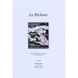 LA RÉCLAME - Colloque des Invalides 2009 Librairie Automobile SPE 9782355480454