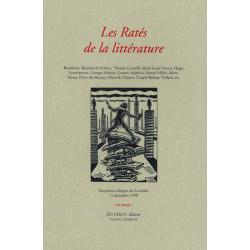 LES RATÉS DE LA LITTÉRATURE - Colloque des Invalides 1998 Librairie Automobile SPE LES RATÉS