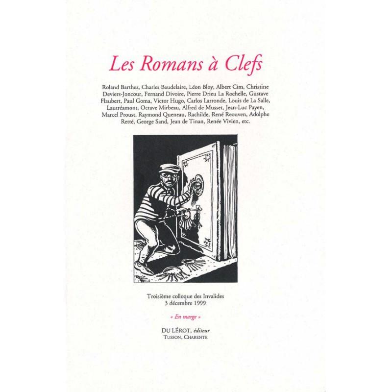 LES ROMANS À CLEFS - Colloque des Invalides 1999 Librairie Automobile SPE LES ROMANS À CLEFS