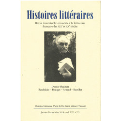 HISTOIRES LITTÉRAIRES N° 73 Librairie Automobile SPE HISTOIRE N°73