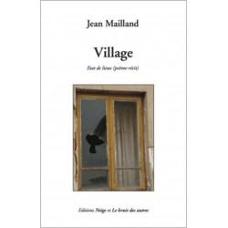 VILLAGE (Etat de lieux) de Jean MAILLAND Librairie Automobile SPE 9782356520951