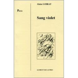 SANG VIOLET de Alain LOIRAT Librairie Automobile SPE 9782909468457