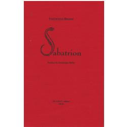 SABATRION de Théophile BRIANT Librairie Automobile SPE 9782355481321