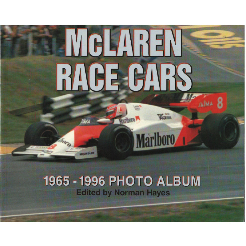McLAREN RACE CARS 1965-1996 Photo Album Librairie Automobile SPE 9781882256747