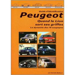 GUIDE D'IDENTIFICATION PEUGEOT LES 16 SOUPAPES Vol.2 Librairie Automobile SPE 9788890648984