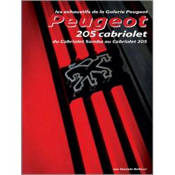 GUIDE D'IDENTIFICATION PEUGEOT 205 CABRIOLET (Cabriolet Samba au Cabriolet 205) Librairie Automobile SPE 978894072457