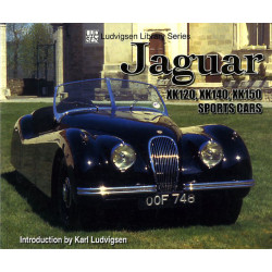 JAGUAR XK120, XK140, XK150 Sports Cars Librairie Automobile SPE 9781583881507