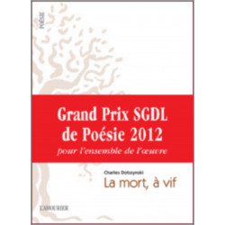 LA MORT A VIF De Charles Dobzynski Librairie Automobile SPE 9782915120776