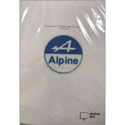 librairie automobile, RÉTROSPECTIVE ALPINE A440