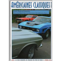ROLLS ROYCE OF AMERICA , AMÉRICAINES CLASSIQUES RODS et CUSTOMS N°148 Librairie Automobile SPE Américianes Classiques N°148