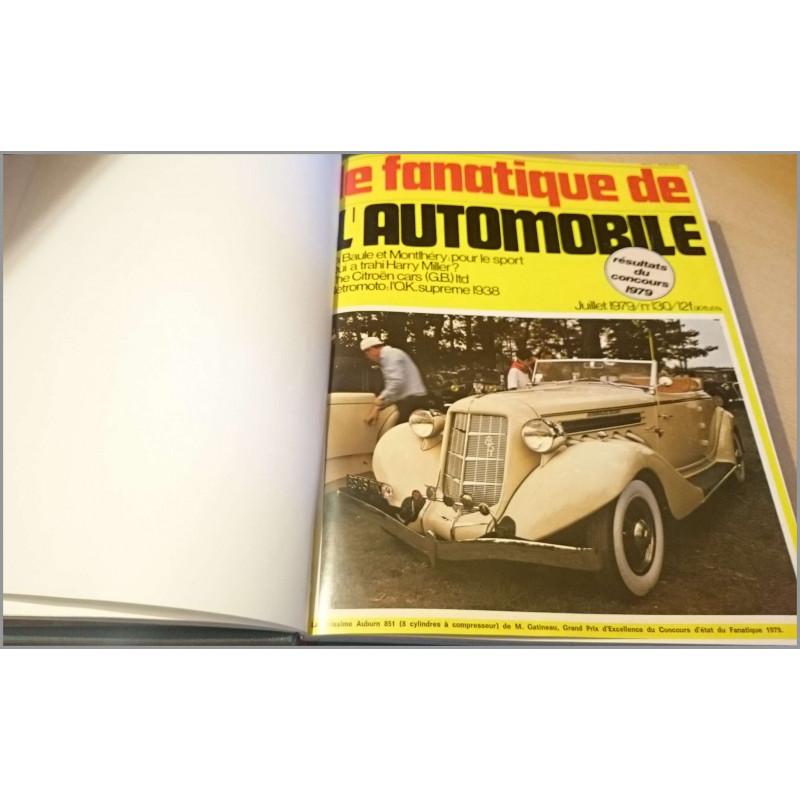 LE FANATIQUE DE L'AUTOMOBILE 1979 + 1980