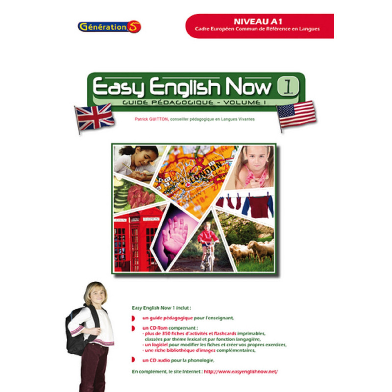 Easy English Now - volume 1 - Génération 5 - 9782916785950