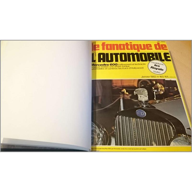 FANATIQUE AUTOMOBILE 1981 + 1982