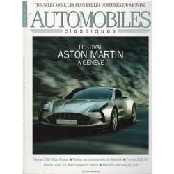 Automobiles Classiques n° 183 - FESTIVAL ASTON MARTIN A GENEVE Librairie Automobile SPE AC183