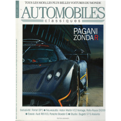 Automobiles Classiques n° 182 - PAGANI ZONDA R Librairie Automobile SPE AC182