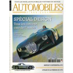 Automobiles Classiques N° 214 - SPÉCIAL DESIGN Librairie Automobile SPE AC214
