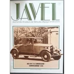 JAVEL N°3 - JOURNAL AMATEURS VÉHICULES ÉPOQUES ET LOISIRS - MARS 1981 Librairie Automobile SPE JAVEL N°3