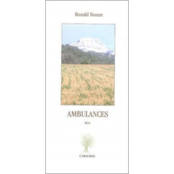 Ambulances De Ronald Bonan Edition l'amourier Librairie Automobile SPE 9782915120141