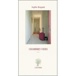 Chambres vides De Sophie Braganti Edition L'Amourier Librairie Automobile SPE 9782915120448