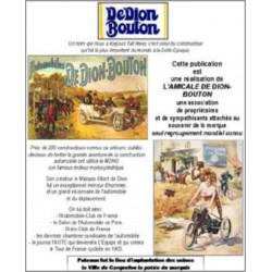 De Dion-Bouton- En témoignages et confidences-René VILLE-