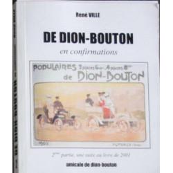 De Dion-Bouton En confirmations Tome 2 René VILLE Librairie Automobile SPE De Dion-Bouton Tome 2