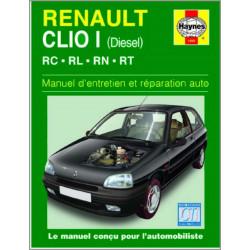 9781850109891 MANUEL ENTRETIEN ET RÉPARATION AUTO RENAULT CLIO I