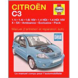 MANUEL ENTRETIEN ET RÉPARATION AUTO CITROËN C3 PICASSO de 2001 à 2005 Librairie Automobile SPE 9781844252824
