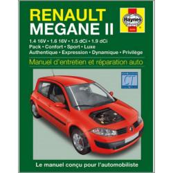 9781844252947 MANUEL ENTRETIEN ET RÉPARATION AUTO RENAULT MEGANE II
